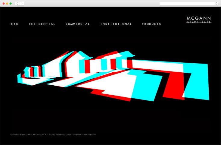 McGann Architects website by Integrale Marketing